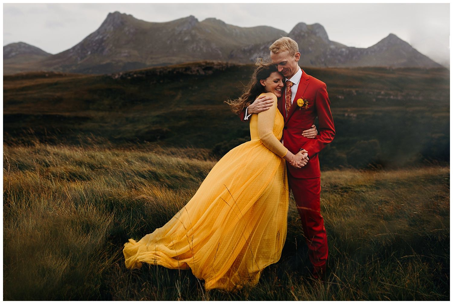Scottish Elopement photography by Hayley and Craig