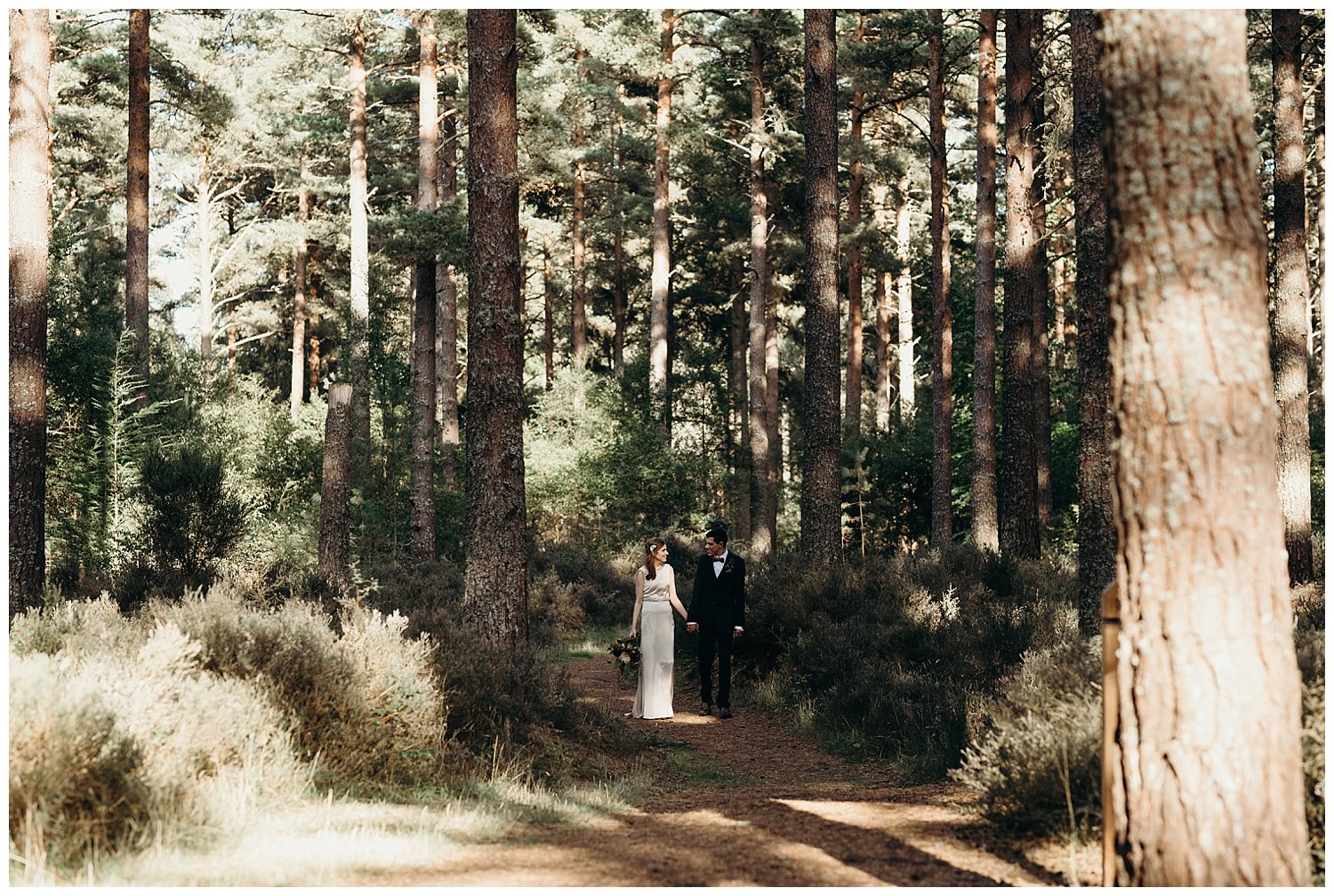 culbin forest wedding photography