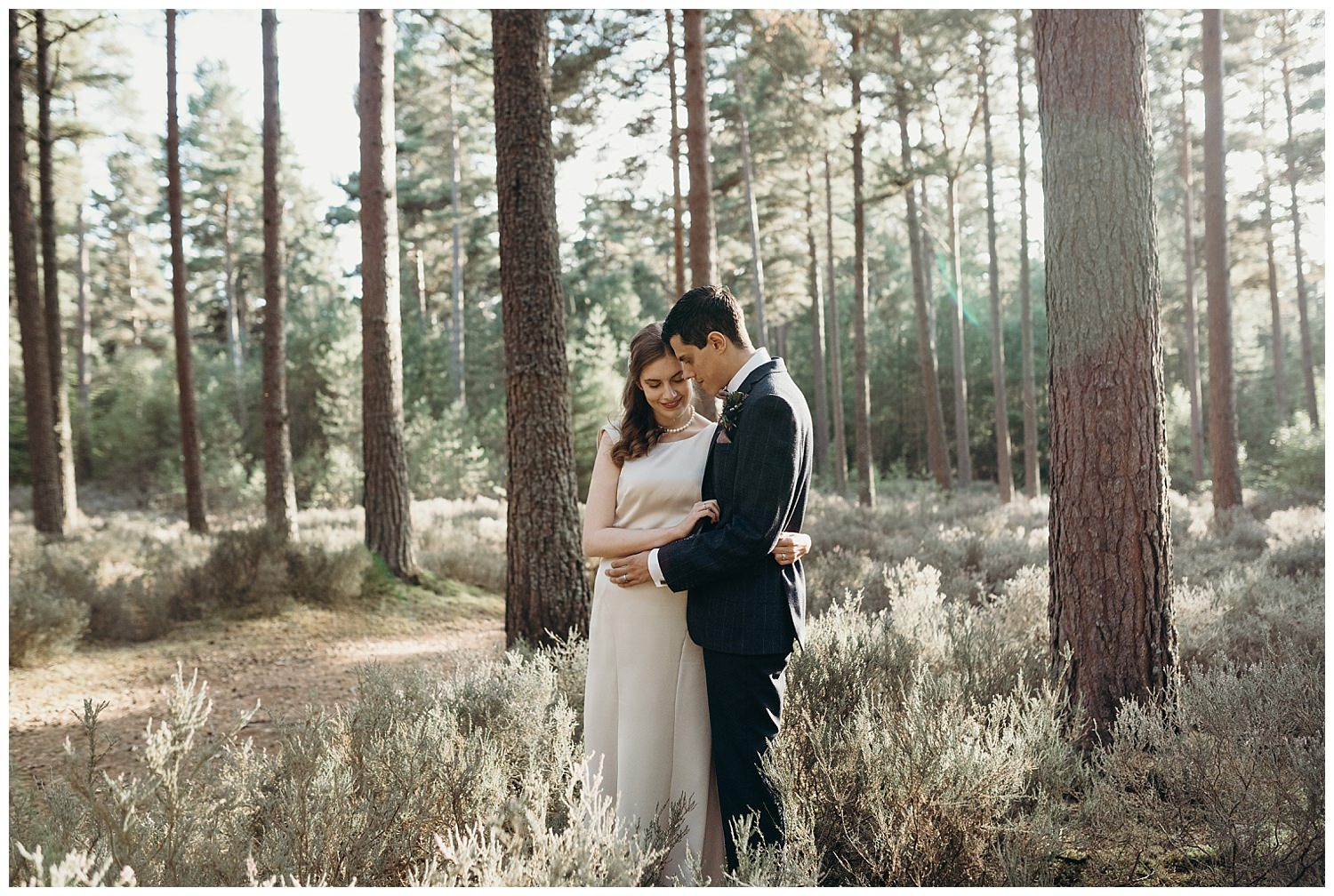 Culbin forest wedding photography by Hayley and Craig
