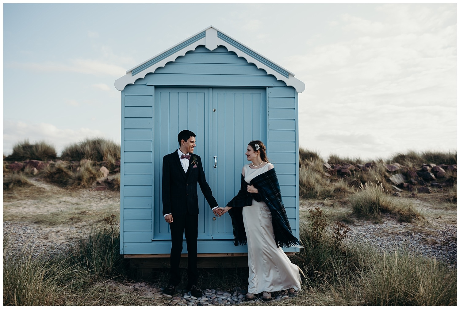 findhorn beach wedding photography