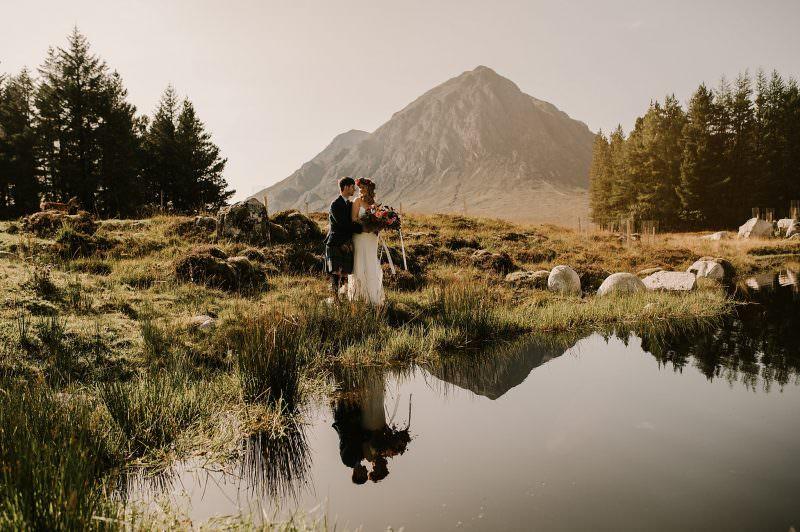 Glencoe wedding