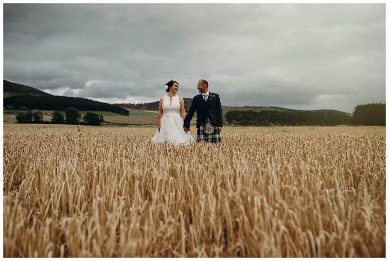 Scottish country wedding